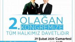 İYİ Parti Ürgüp ilçe kongresi 29 Şubat'ta