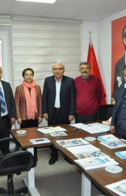CHP ilçe başkanları toplandı